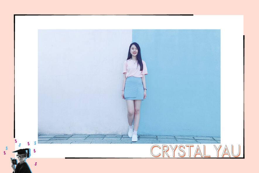 Crystal Yau(剛畢業大學生,正在搵工)「看我有否興趣,也看薪酬、工作地點和福利。」