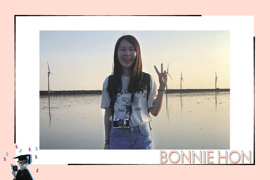 Bonnie Hon(剛畢業大學生,正在搵工)「我會看人工、一週工作幾多日,也看公司有否