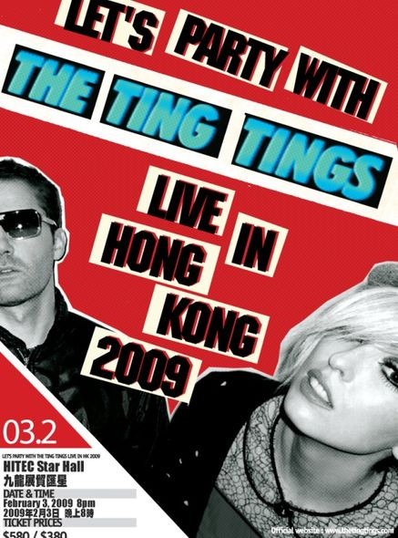 The Ting Tings Live in Hong Kong 2009