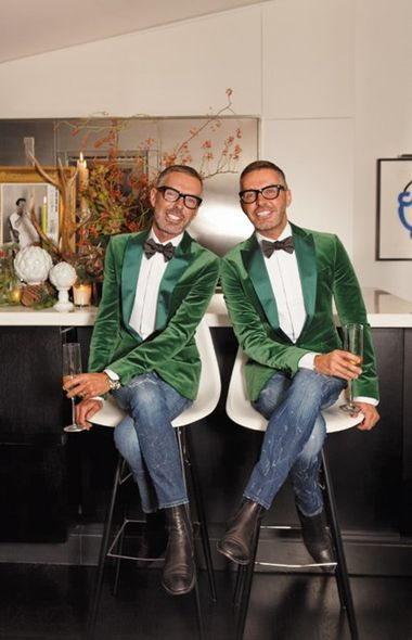 Dean and Dan Caten of Dsquared2