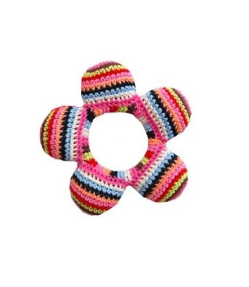 ANNE CLAIRE PETIT Flower Rattle Multi ($290)
