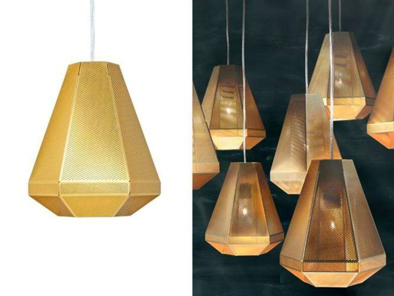 Tom Dixon Cell Pendant Light Tall 吊燈:$7000