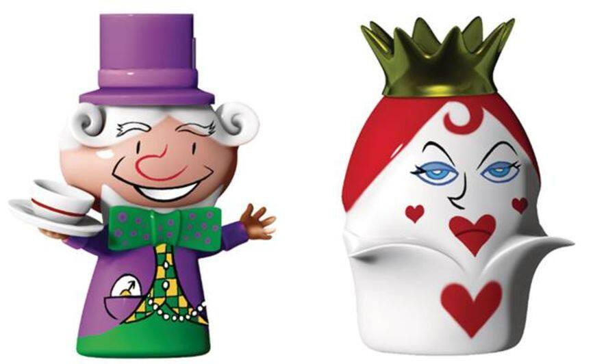 The Hatter And The Queen Of Hearts 聖誕擺設一對 HK$380