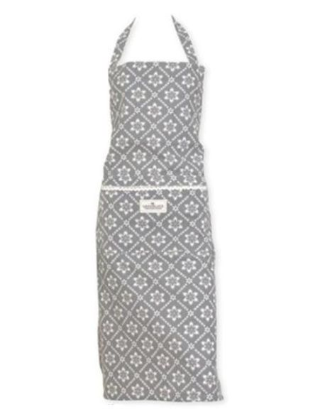 15 Greengate Apron Luna Warm Grey One Size