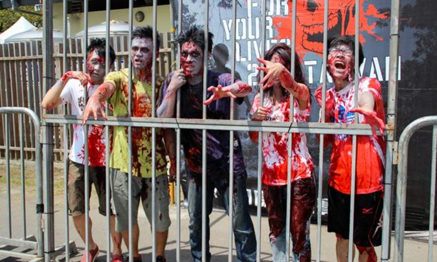 2 Run For Your Lives Zombie Competition Hk