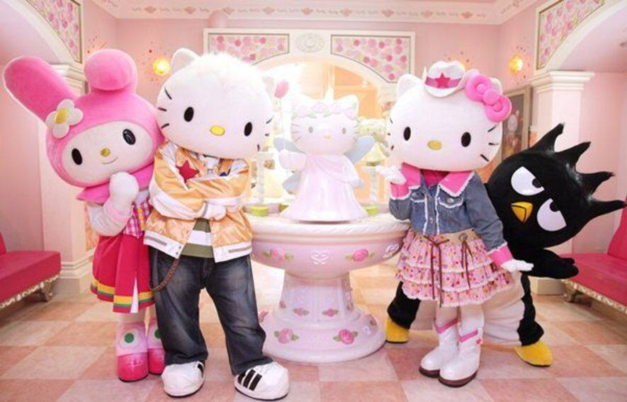 Puteri Harbour Family Theme Park,Sanrio Hello Kitty Town