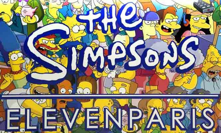周年限定!The Simpsons @ Le Water Bar Colette