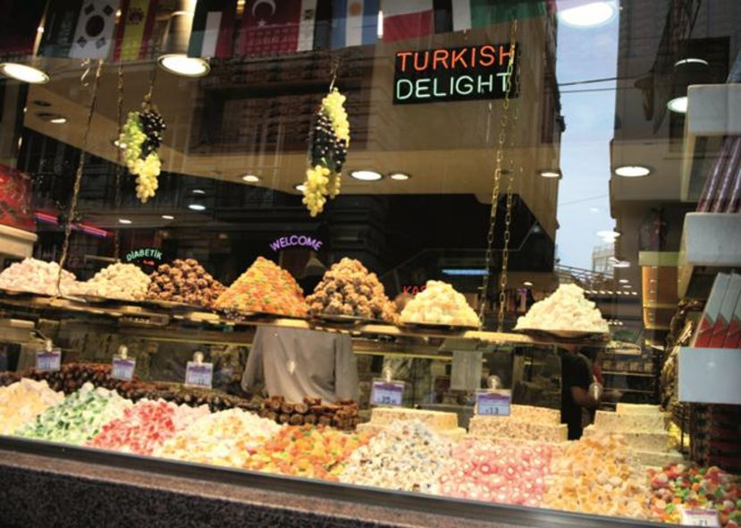 Turkish delights:土耳其軟糖