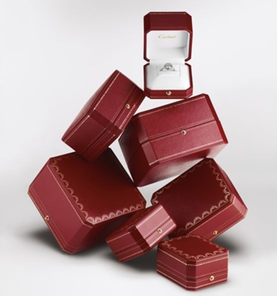 Cartier Set for you, Engagement ring