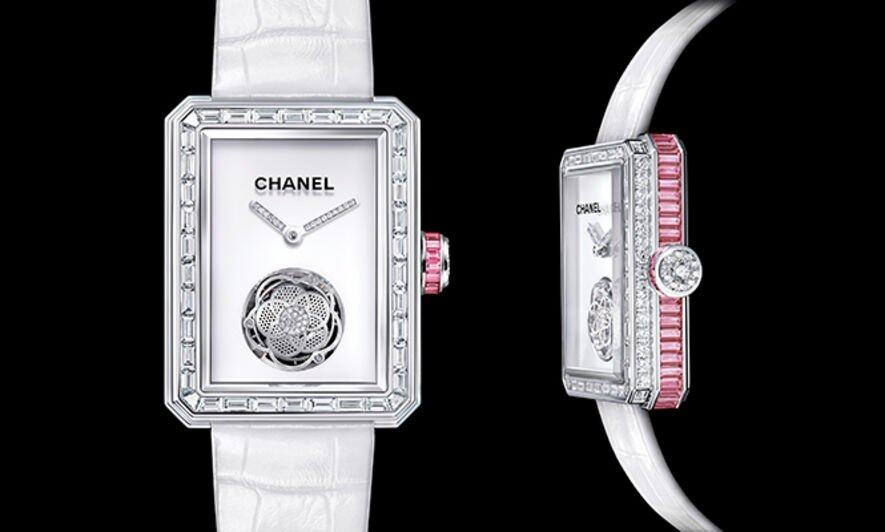 女裝腕錶的複雜工藝, Christophe, Claret Margot, Chanel, Chanel Premiere Tourbillon, Chaumet Hortensia Tourbillon, Chaumet, Richard Mille RM19-01,Richard Mille