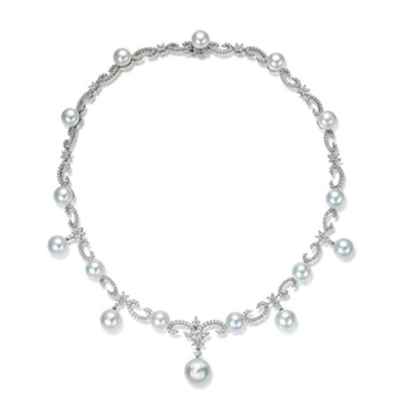 wedding jewel, pearl necklace
