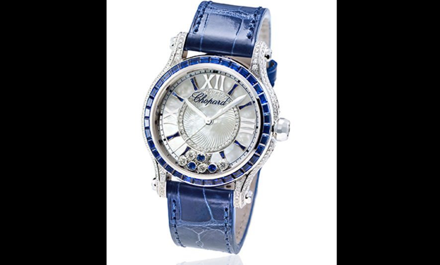 Chopard Happy Sport Medium Automatic Joaillerie腕錶