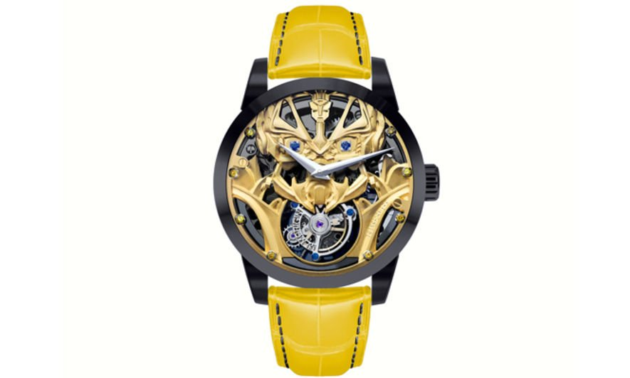 Memorigin Transformers Tourbillon, 陀飛輪, 變形金剛