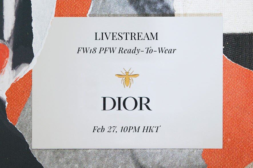 Dior, 2018秋冬, FW18, 時裝周, 2018 fall winter fashion week