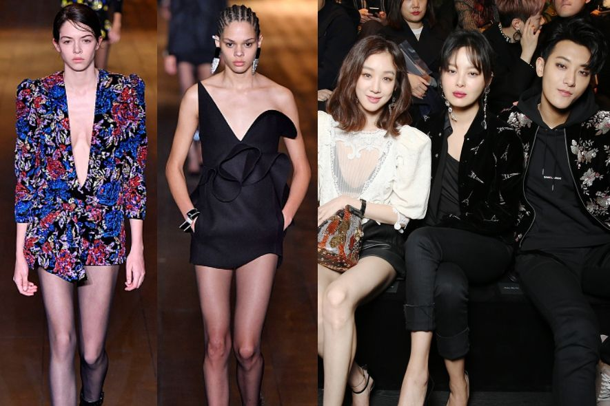 2018秋冬, FW18, 時裝周, FW18 Fashion Week, Show Report, Saint Laurent