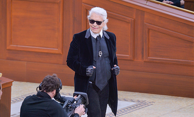 Karl Lagerfeld Paris Fashion Week fw15paris fashion Chanel