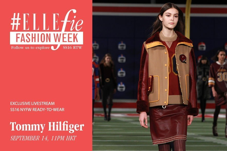 NYFW,Tommy Hilfiger,SS16,liveshow