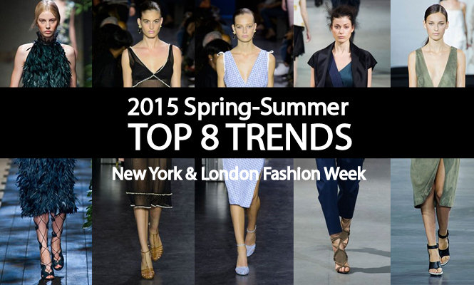 SS15 fashion trend of new your London fashion week
