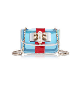 Sweet Charity mini PVC and leather shoulder bag