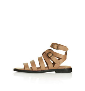 Womens FRENZY Gladiator Sandals - Tan