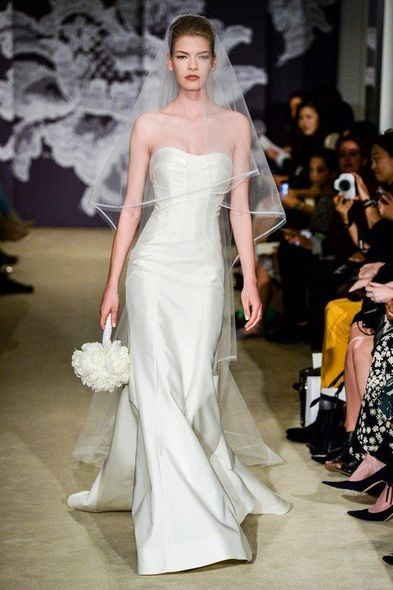婚禮造型, 婚紗, Wedding Ideas, 結婚, 婚禮, 新娘造型, Carolina Herrera, Kenneth Pool, Monique Lhuillier, Oscar De La Renta, Pronovias