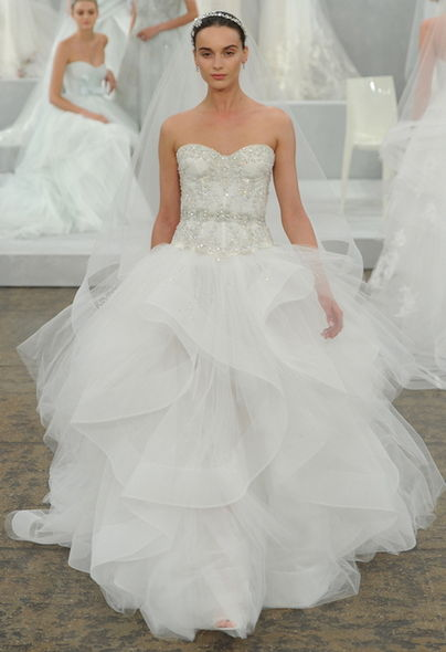 Monique Lhuillier, Bridal Week, 婚紗, Wedding Ideas, 結婚, 婚禮, 新娘造型