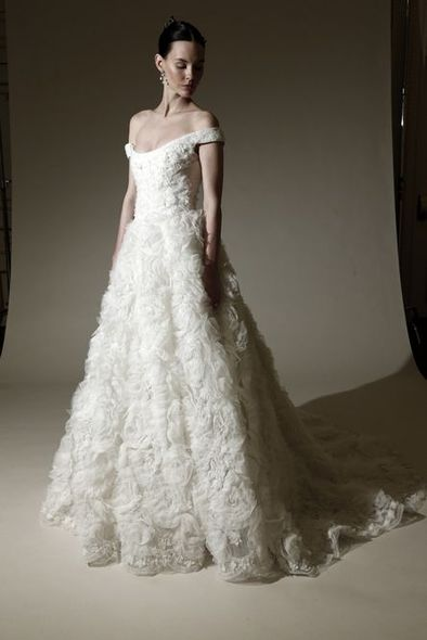 Marchesa, Bridal Week, 婚紗, Wedding Ideas, 結婚, 婚禮, 新娘造型, 春夏