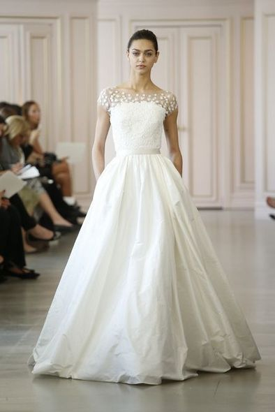 Oscar de la Renta, Bridal Week, 婚紗, Wedding Ideas, 結婚, 婚禮, 新娘造型, 春夏