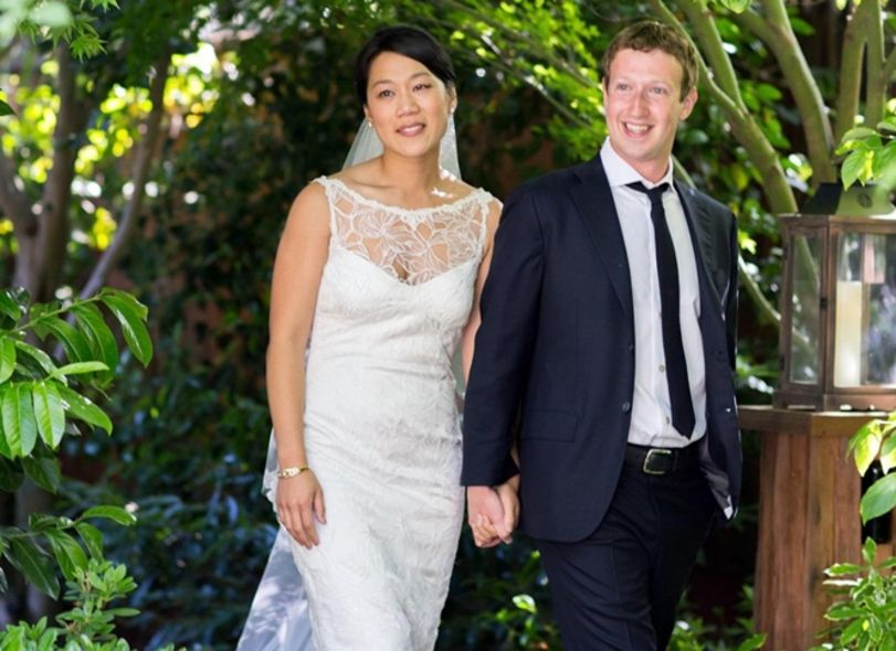 Mark Zuckerberg, Priscilla Chan wedding