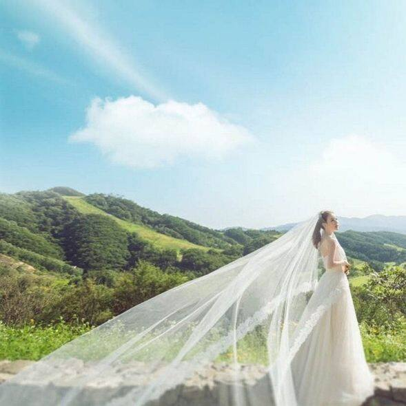 ktrend, Korea Wedding, 韓國, 明星, 婚禮, 結婚, 陳泰賢, 朴詩恩, pre wedding photo, photography, 婚紗相