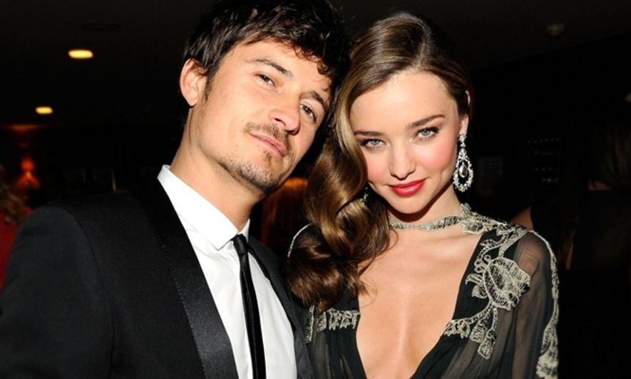 離婚, Miranda Kerr, Orlando Bloom, 明星