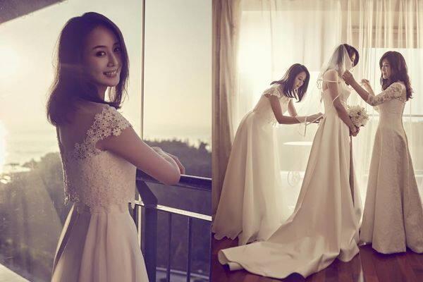 張鈞甯, 婚紗相, 婚禮攝影, 婚紗攝影