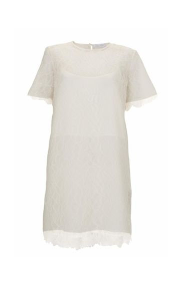 Richard Nicoll X Topshop Bridal系列白色Lace短裙