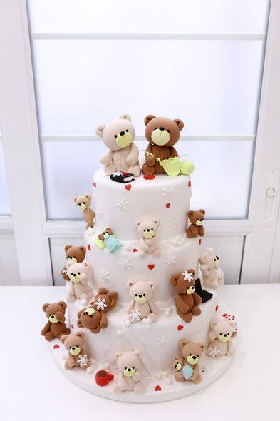蛋糕, 結婚蛋糕, 婚禮, ELLE Wedding Top List, Glamorous Wedding Cake