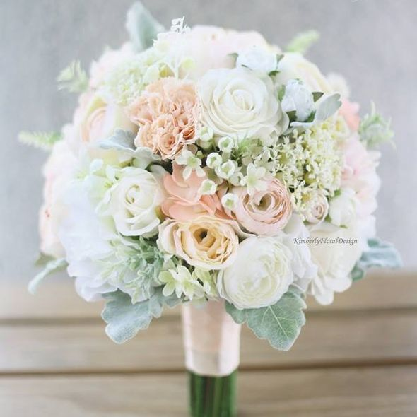 Kimberly Floral Design, 花球, 結婚, 新娘, ELLE Wedding Top List