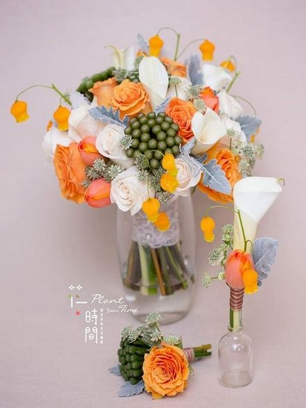 Plant some Time, 花球, 結婚, 新娘, ELLE Wedding Top List